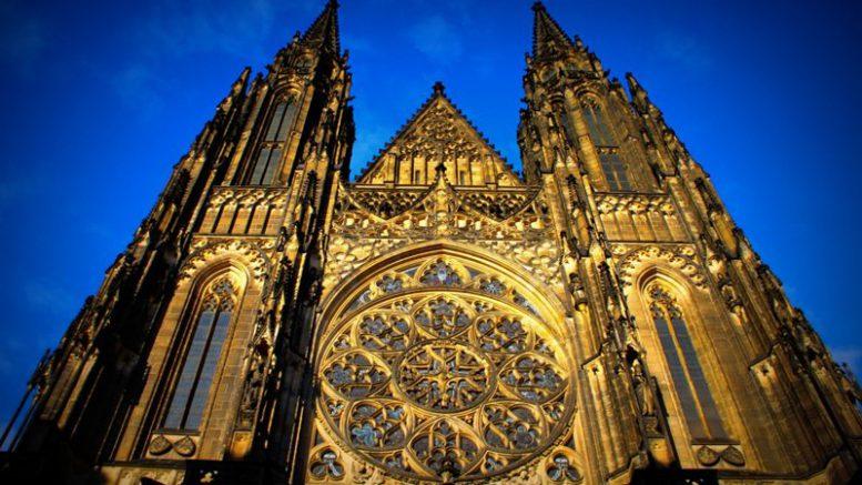 Достопримечательности Праги. Собор Святого Вита. Фото 2