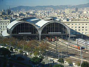 Железнодорожные станции Барселоны фото 4