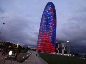 Знаменитые башни Барселоны фото 2