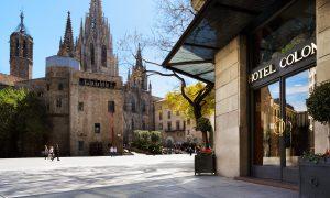 Отель Regencia Colon, Барселона, Испания фото 8