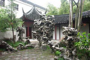 Старинный сад Ю в Китае фото 2