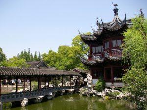 Старинный сад Ю в Китае фото 3