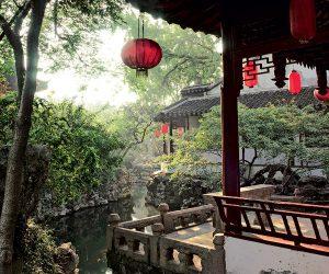 Старинный сад Ю в Китае фото 5