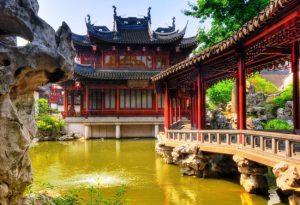 Старинный сад Ю в Китае фото 6