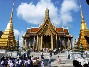 Таиланд. Бангкок. Большой королевский дворец. фото 1