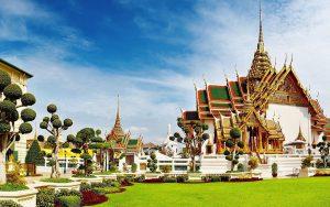 Таиланд. Бангкок. Большой королевский дворец. фото 2