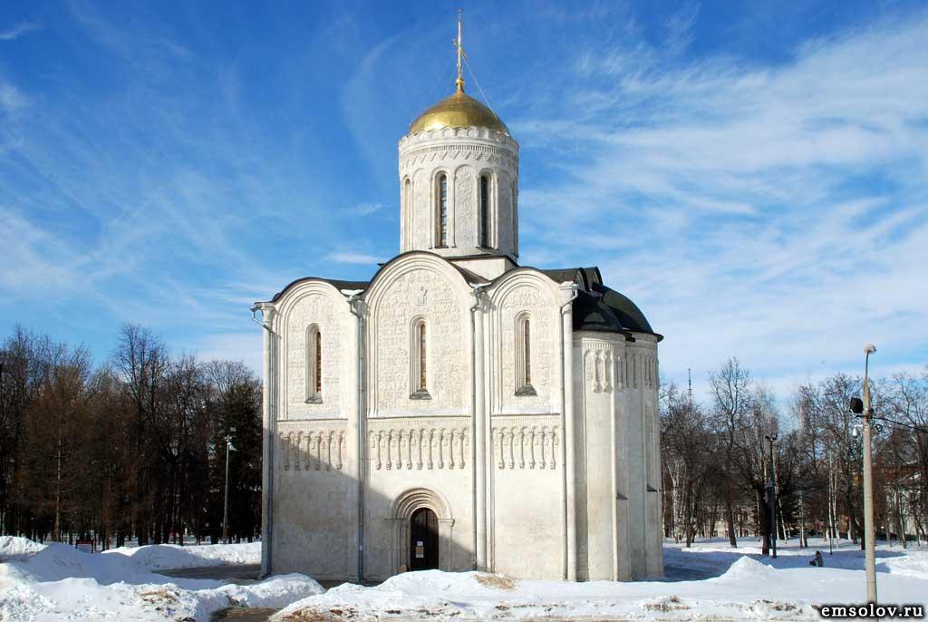 Успенский и Дмитриевский соборы во Владимире - фото 1