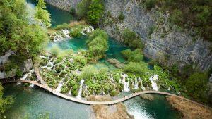 Хорватия. Национальный парк «Плитвицкие озёра» фото 2