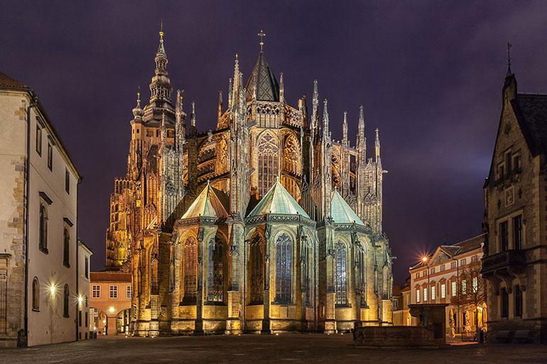 Достопримечательности Праги. Собор Святого Вита. Фото 1